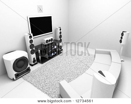 hi-end audio system