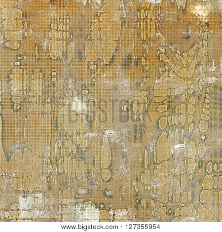 Highly detailed grunge background or scratched vintage texture. With different color patterns: yellow (beige); brown; gray; white