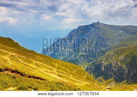 Bucegi mountains in Carpathians Transylvania Romania, Europe