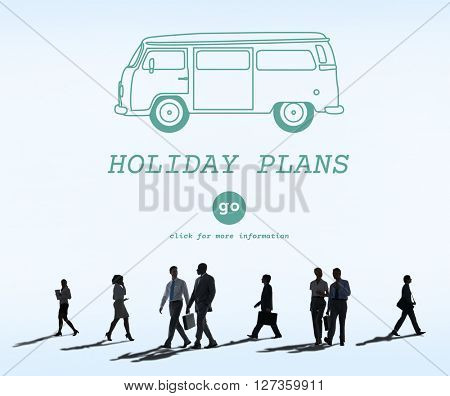 Holiday Plans Travel Retro Car