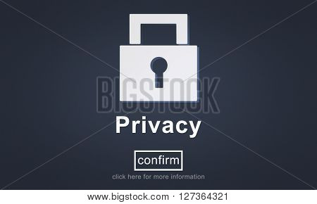 Privacy Private Secret Security Protection Concept