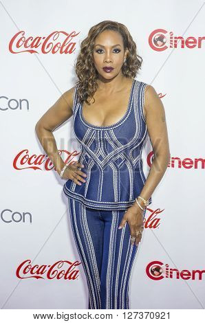 LAS VEGAS - APRIL 14 : Actress Vivica A. Fox attends the CinemaCon Big Screen Achievement Awards at The Caesars Palace on April 14 2016 in Las Vegas
