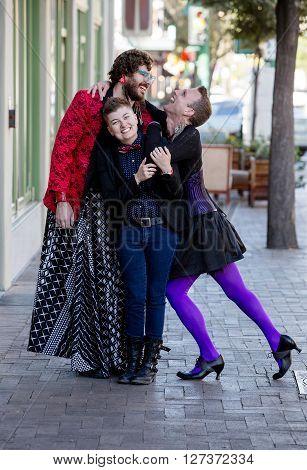 Fun Loving Gender Fluid Friends