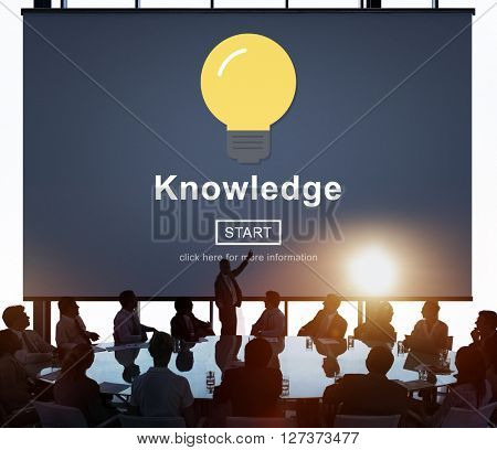 Knowledge Learning Studying Education Intelligence Concept
