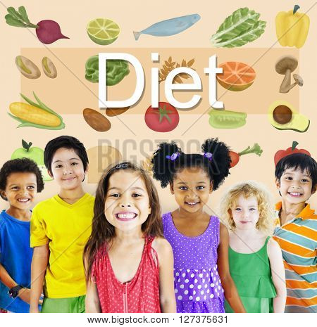 Diet Choice Eatting Healthy Nutrition Obesity Concept
