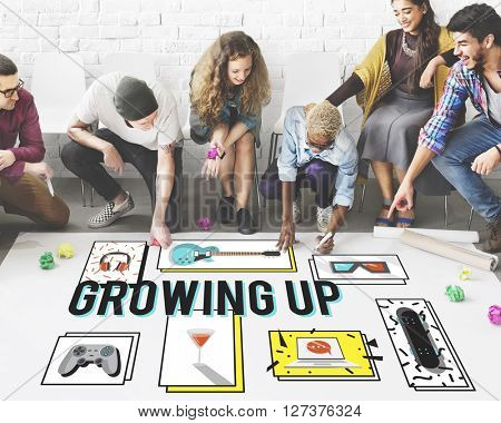 Growing Up Entertainment Hobby Young Concept
