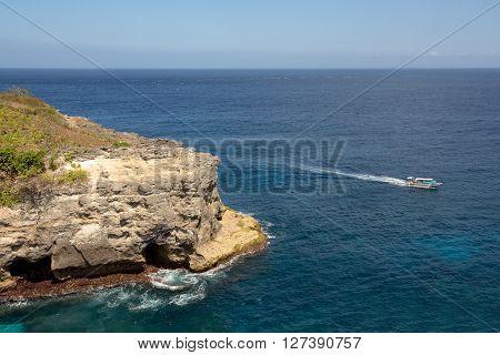 Coastline At Nusa Penida Island