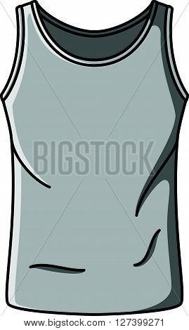 Singlet doodle illustration design .EPS10 editable vector illustration design
