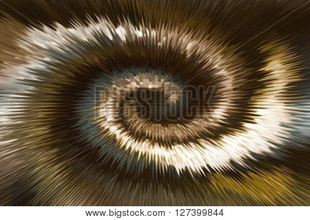 Wonderful Twist Brown And Gold Millennium Abstract Background