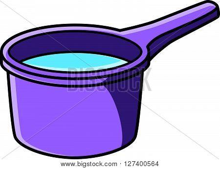 water dipper vector cartoon illustration .eps10 editable vector illustration design