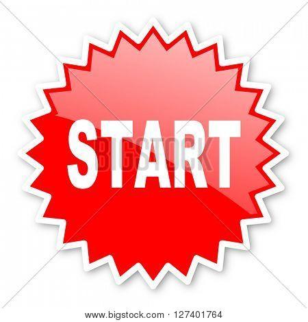 start red tag, sticker, label, star, stamp, banner, advertising, badge, emblem, web icon