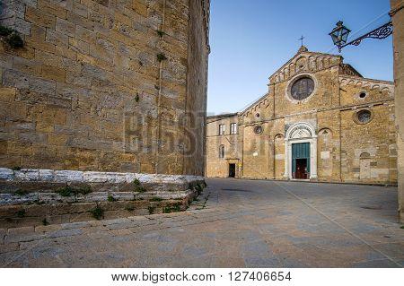 Italy, Tuscany, Volterra, Cathedral Of Santa Maria Assunta