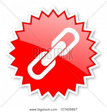 link red tag, sticker, label, star, stamp, banner, advertising, badge, emblem, web icon