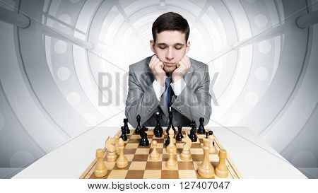 Playing his business strategy