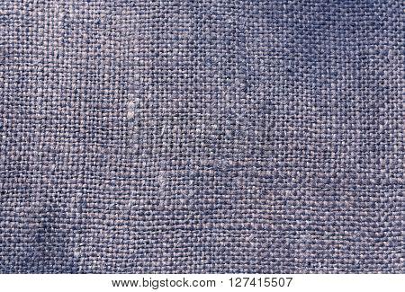 Blue Textile Sack Texture
