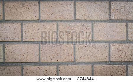 Brick wall pattern texture