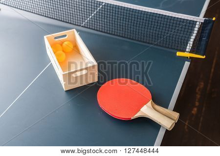 Table tennis or ping pong