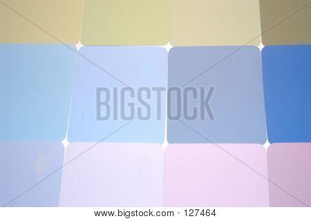 Pastel Paint Samples