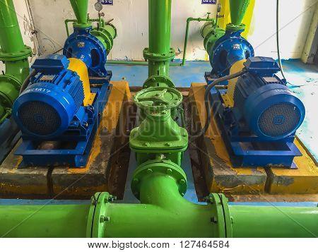 Pump Motor