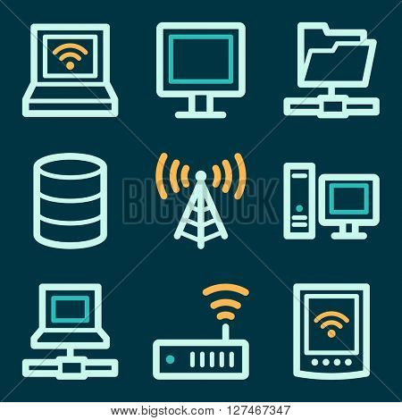 Network web icons