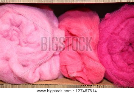 Three Balls Of Very Soft Wool For Sale