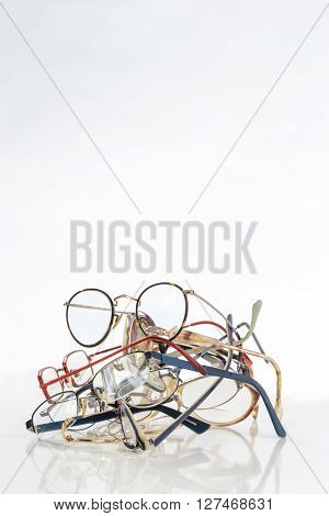 bunch of unneeded glasses  for donation to help third world people