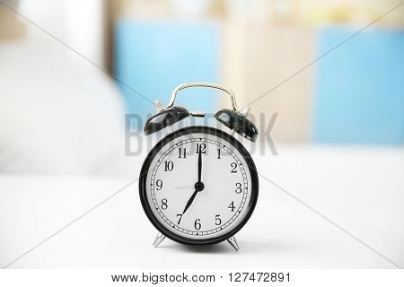 Alarm clock, closeup