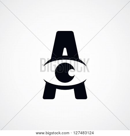 Letter A Logotype Logo Sign Theme