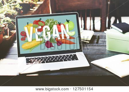 Vegan Healthy Eating Food Vegetable Vegetarian Concept