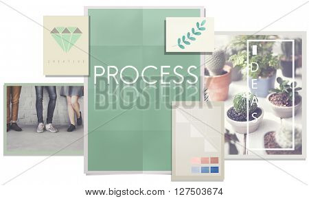 Process Action Activity Business Operation Job Concept