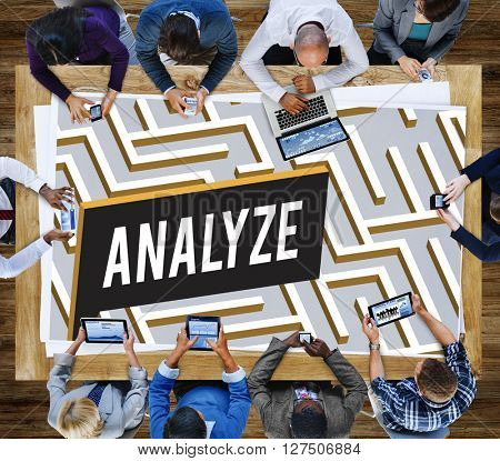 Challenge Analyze Complicated Maze Concept