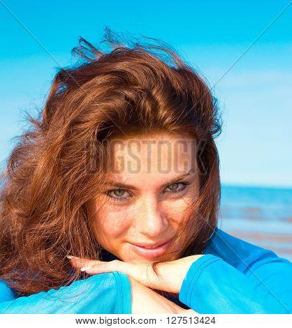 Beach Innocence Smiling