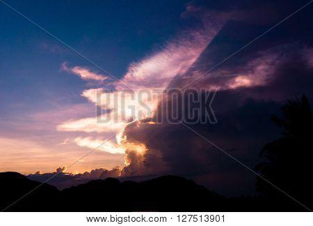 Darkening Heavens Burning Skies