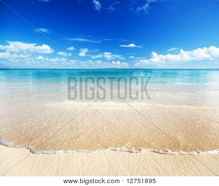 Sand Strand Karibik Meer