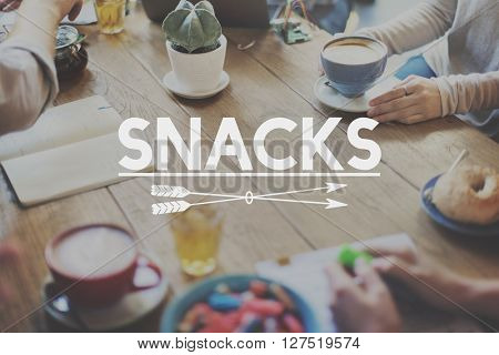 Snack Bar Fast Food Tasty Appetite Savory Culinary Concept