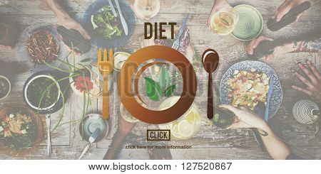 Diet Nutrition Health Food Healthy Eating Website Concept