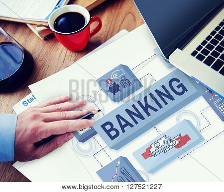Banking Saving Money Management Account Concept