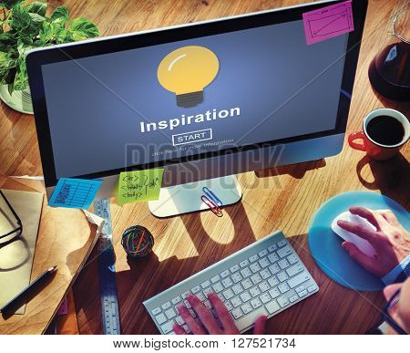 Inspiration Innovate Imagination Motivation Concept