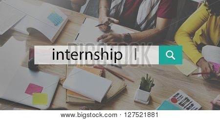 Internship Apprenticeship Management Trainee Concept
