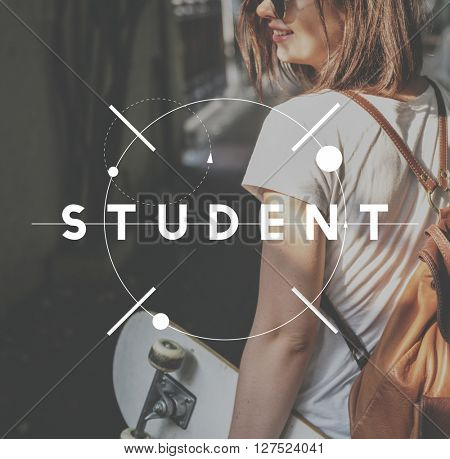 Student Back To School Inspire Concept