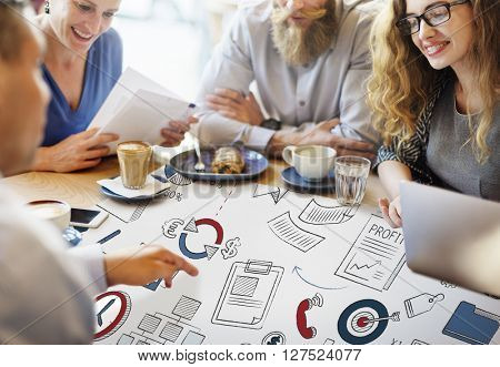 Business Planning Corporate Development Startup Concept