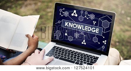 Knowledge Particles Geometry Shapes Graphics Concept