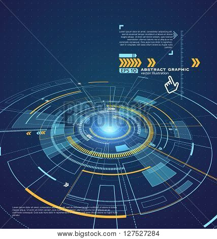 Three-dimensional interface technology the future of user experience.