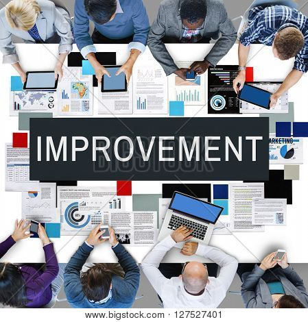 Improvement Better Efficiency Growth Innovation Concept