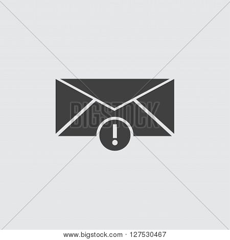 Important mail icon illustration isolated vector sign symbol
