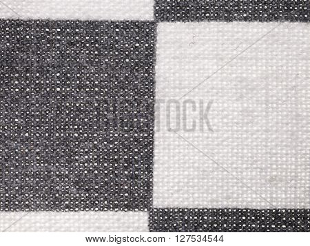 Textile Background - Plaid Cotton Fabric