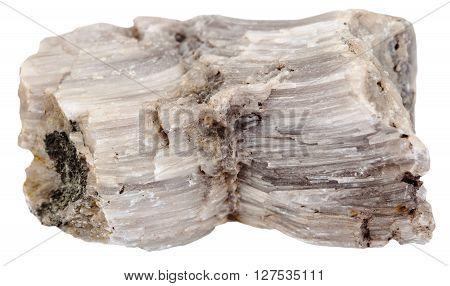 Specimen Of Raw Baryte (barite) Stone Isolated