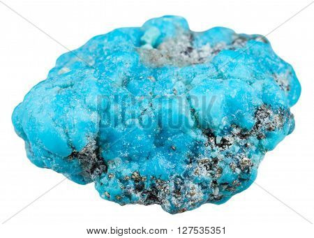 Specimen Of Blue Turquoise Gemstone From Mexico