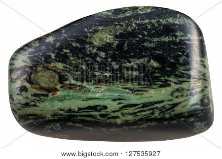 Pebble Of Madagascar Green Rhyolite Gemstone