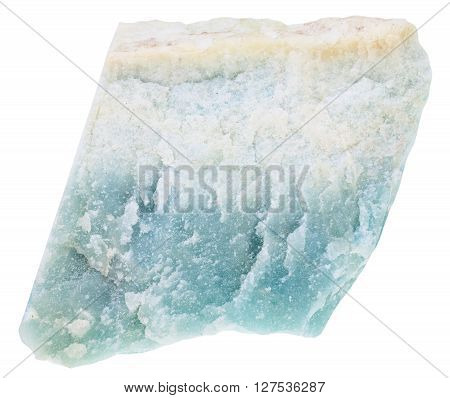 Specimen Of Violane (blue Diopside) Gemstone